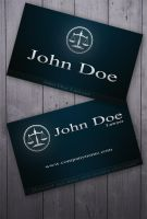 Business card for Lawyers by Freshbusinesscards