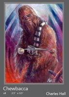 chewbacca by charles-hall