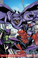 MA Spidey Cover by greenestreet