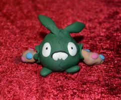 Trubbish clay figure by Jensoxen