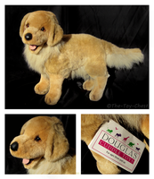 Douglas Cuddle Toys - Shalah Golden Retriever by The-Toy-Chest