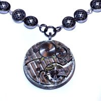 Steampunk Necklace by CatherinetteRings