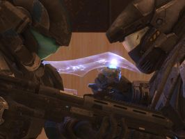 Halo: Reach - Faceoff by pizzagrenade