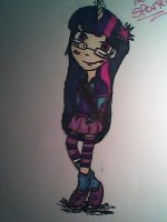 Humanized Twilight Sparkle Sketchy. by PoniesInHats