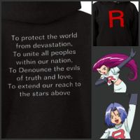 Team Rocket Hoodie by scallyswagger