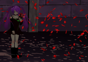 :MMD: Whispers In The Dark by PuniPudding