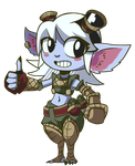 League of Legends - Tristana by Undead-Niklos