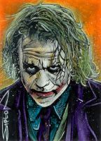 Joker Sketch Card 3 by RandySiplon