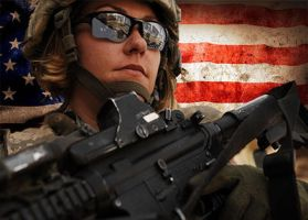 American Soldier by xmbagarusx