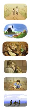 Various LoM Fic Illustrations by Ferntree