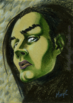 Elphaba Art Card by ArtbyMaryC