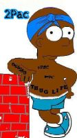 2pac-Simpons by ripsta