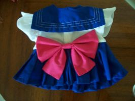 Sailor Moon Bear Cosplay 3 by Bakoneko