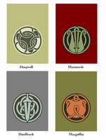 Brave Clan Flags by Enlightenup23