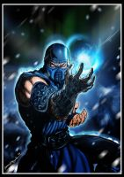 Sub-Zero -Mortal Kombat by Grapiqkad