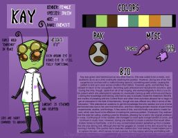 Kay: Official Reference Sheet by LiquidLeo