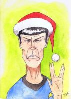 Spock by SolidAbyss