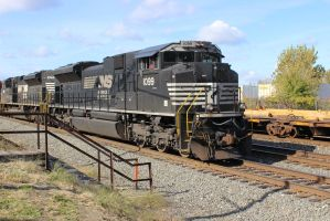 Norfolk southern 1099 locomotive by bagera3005
