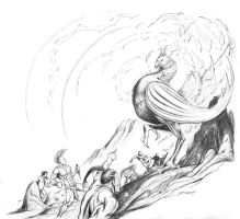 Feng Huang Pencils by michaelstewart