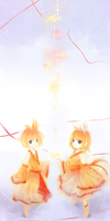 SS:Vocaloid Len and Rin by Effier-sxy