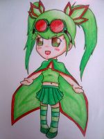 Gijinka Flygon by beanystergates
