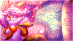 .:Isabel Wishes: Last Drawing of the Year:. by CrazyCakesunesART