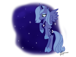 Lonely Luna by RebeccaHull45