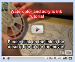 Watercolor Tutorial Video 6 by lady-cybercat