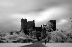 Malahide Castle, infra-red by artspring