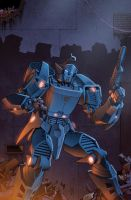 Transformers RID #4 cover colors by khaamar