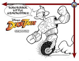 Gizmoduck Quickie by jongraywb