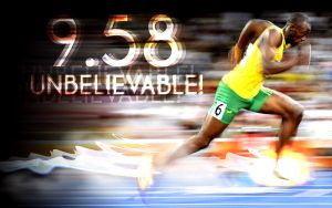 Usain Bolt 9.58 by innografiks