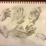 Hand studies I by Acousticletters