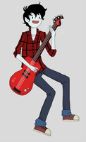 Marshall Lee by squirrelpaw4970
