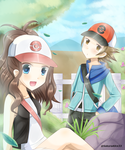 pokemon black and white by SakuraAlice33