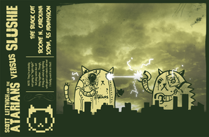 Giant Robot Cat Fight... by ixis