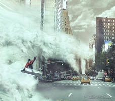 City boarding - Manipulation by Kinetic by Kinetic9074