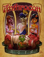 AnthroCon 2012 Cover by devmadan