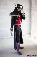 LoL - Twisted Fate cosplay by Blackconvoy