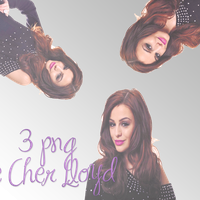 3 png de Cher Lloyd by GuadalupeLovatohart