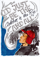 INSPBOOKS CHALLENGE 1 - The Catcher in the Rye by Meriancel
