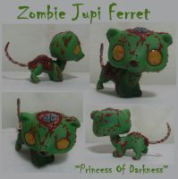 Zombie Jupi Ferret by DeepDarkCreations