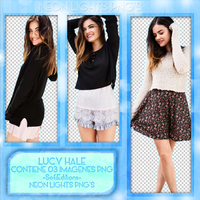 PackPng Lucy Hale -NeonLightsPNG'S by SoffMalik