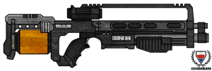Killzone: StA-52 Assault Rifle by CzechBiohazard