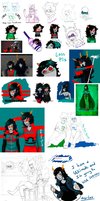 -Shitty Homestuck Dump- by Nega-Lara