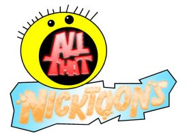 All That Nicktoons Logo by AxleGrease-75