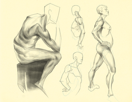 Hampton p.127-128: Figure Studies III by theThirdCartel