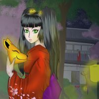 Kitsune by death6loves6me6