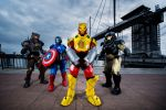 Iron Man Fusions - Cosplay Group shot by CGKetchup
