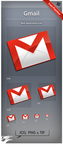 Icon Gmail by ncrow